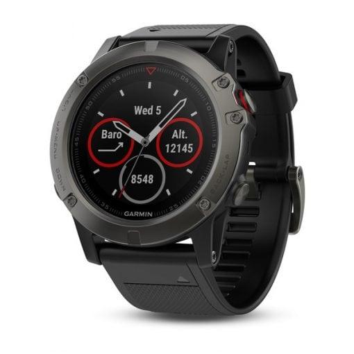 שעון דופק ו-GPS גרמין