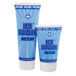 "Ice Power Cold Gel + MSM מ""ג 200"