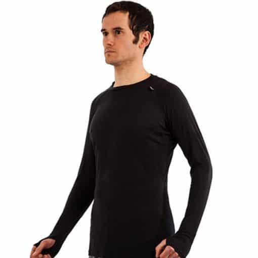 חולצת ריצה ארוכה לגבר