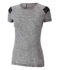 חולצת ריצה קצרה לנשים מיזונו