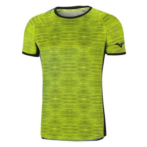 חולצת ריצה קצרה מיזונו לגברים