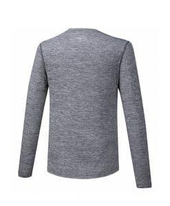 mizuno חולצת ריצה ארוכה לגברים