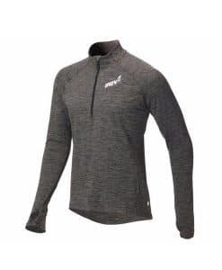 inov8 mid layer dark grey חולצה ארוכה לריצה