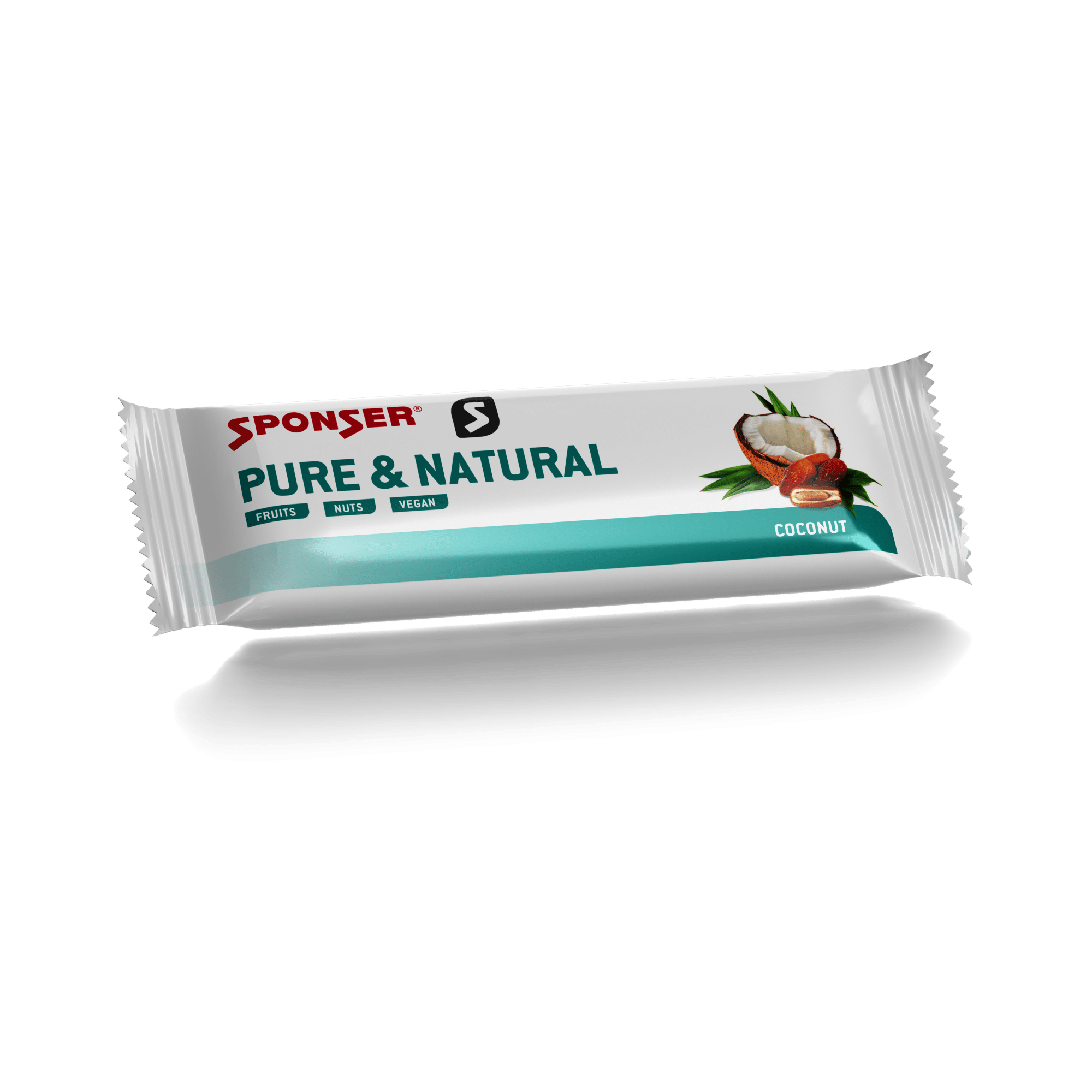 חטיפי אנרגיה Sponser Energy Bar PURE & NATURAL Coconut